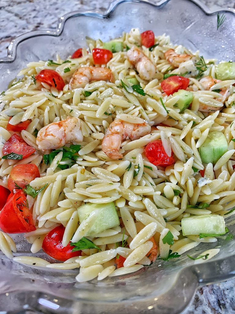 Shrimp and Orzo Pasta Salad